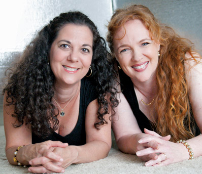 Lisa Joiner and Debbie Roszel
