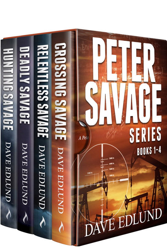 Peter Savage Boxed Series Books 1-4