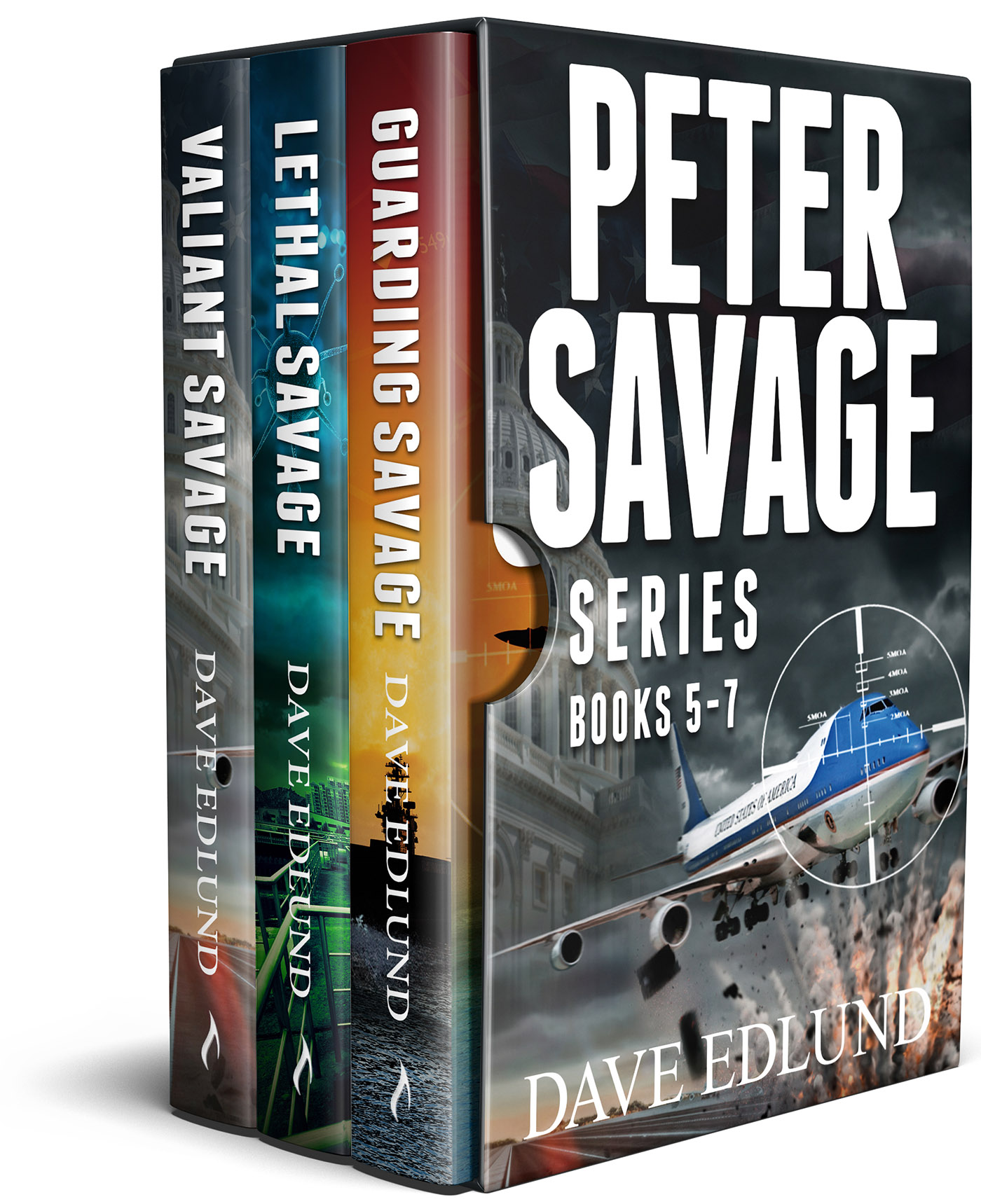 Peter Savage Boxed Series Books 5-7